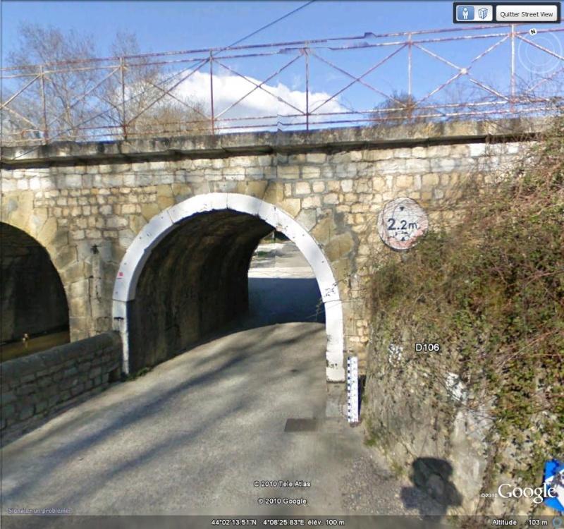 STREET VIEW : Les ponts à hauteur limitée 2_210