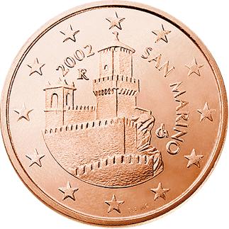 Monuments sur les pièces d'Euro  5_cent11