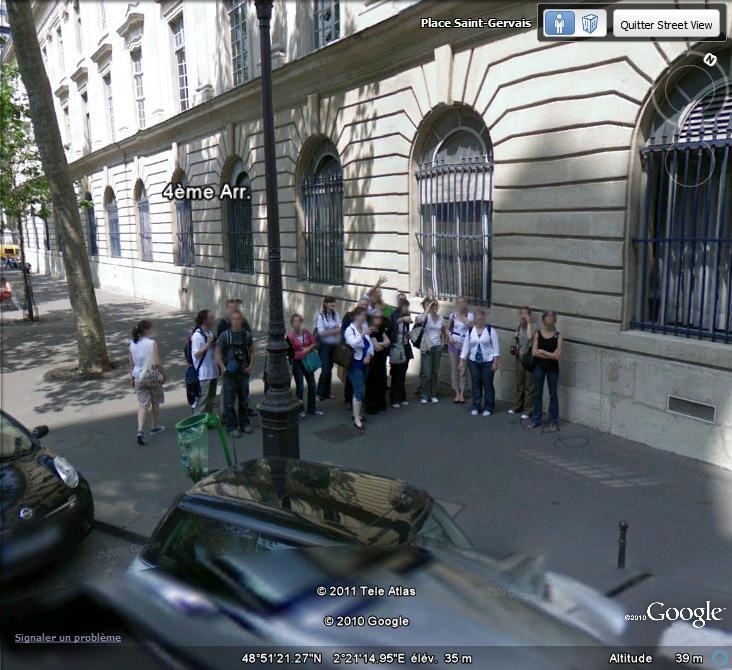 STREET VIEW : un coucou à la Google car  - Page 52 Coucou11