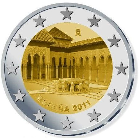 Monuments sur les pièces d'Euro  E282ac18