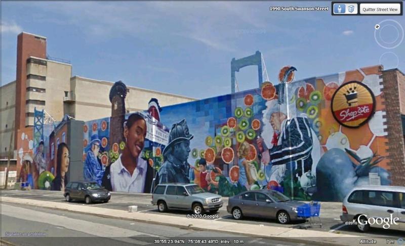 STREETVIEW : les fresques murales de Philadelphie  - Page 5 Facade12