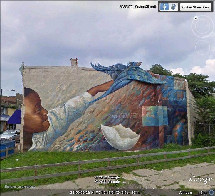 STREETVIEW : les fresques murales de Philadelphie  - Page 5 Facade13