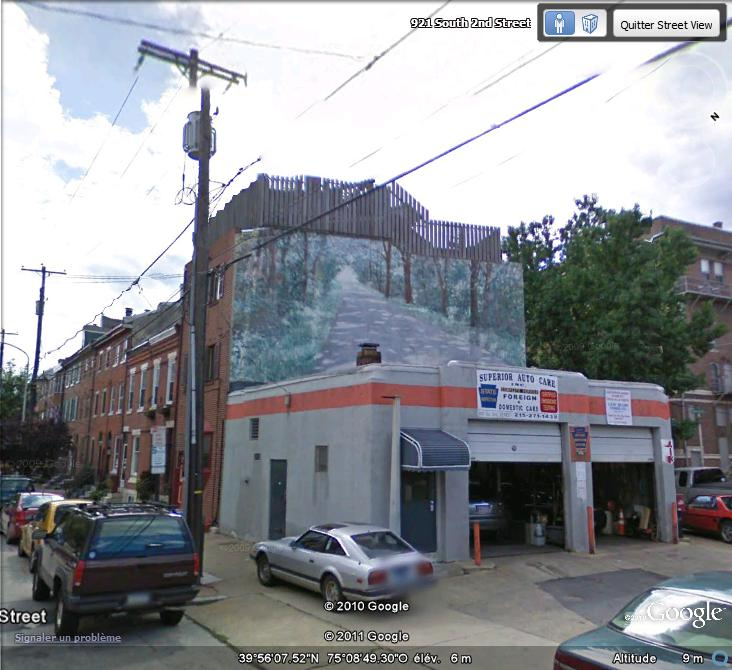 STREETVIEW : les fresques murales de Philadelphie  - Page 5 Facade14