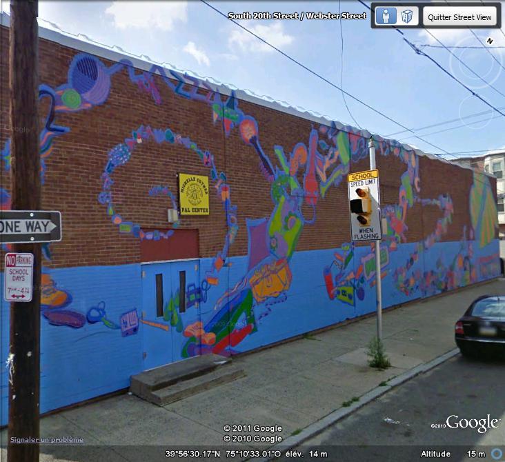STREETVIEW : les fresques murales de Philadelphie  - Page 5 Facade15