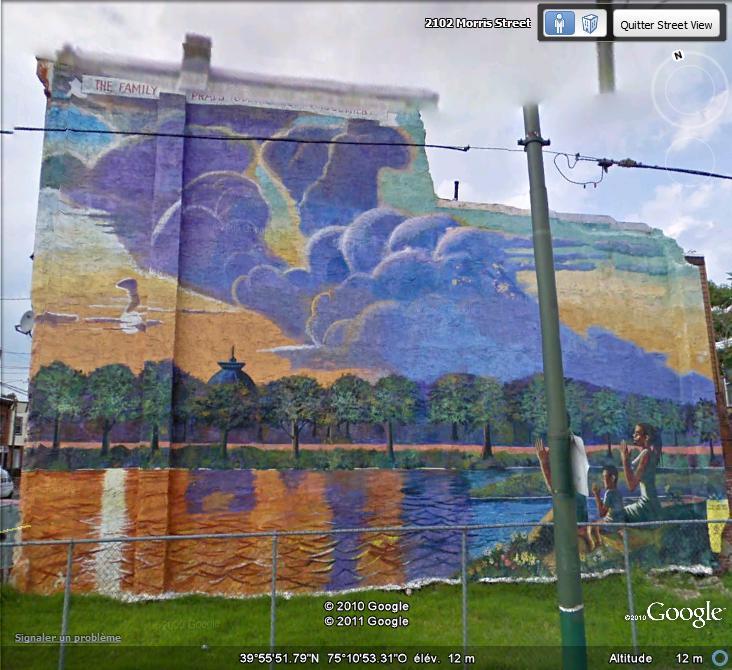 STREETVIEW : les fresques murales de Philadelphie  - Page 5 Facade19