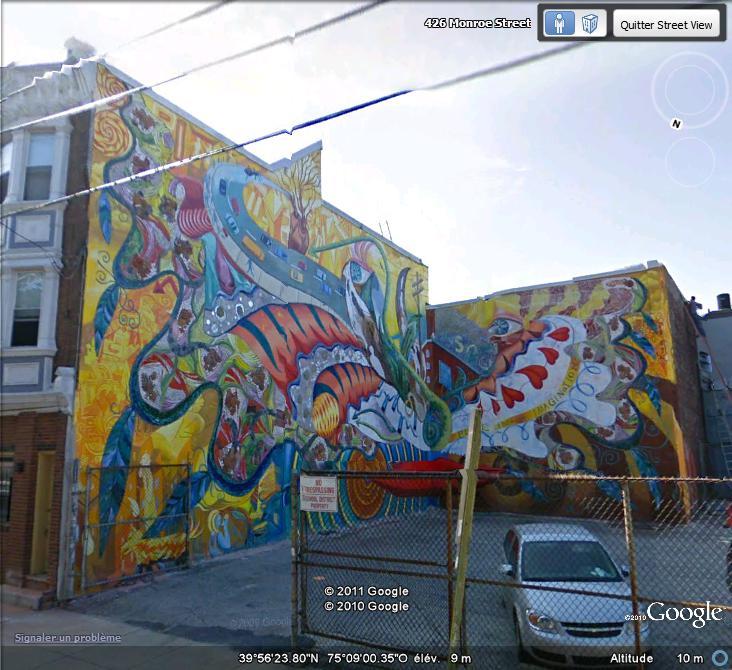 STREETVIEW : les fresques murales de Philadelphie  - Page 6 Facade20