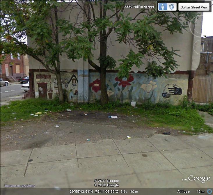 STREETVIEW : les fresques murales de Philadelphie  - Page 6 Facade21