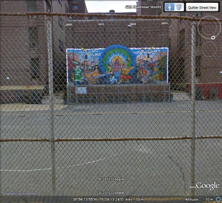 STREETVIEW : les fresques murales de Philadelphie  - Page 6 Facade22