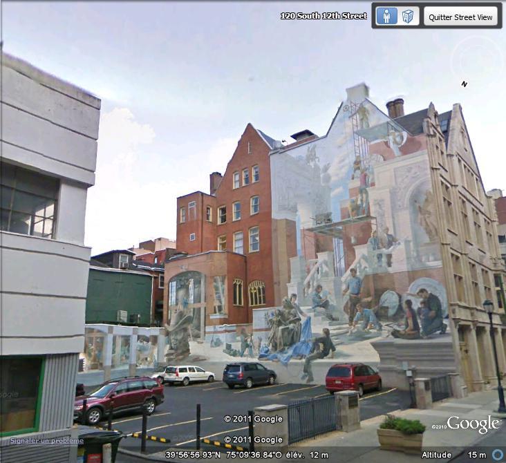 STREETVIEW : les fresques murales de Philadelphie  - Page 6 Facade24