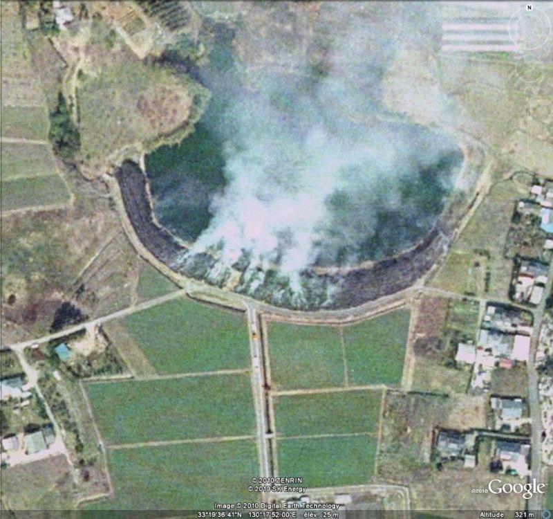 incendies - Au feu ! !  [Les incendies découverts dans Google Earth] - Page 7 Feu11
