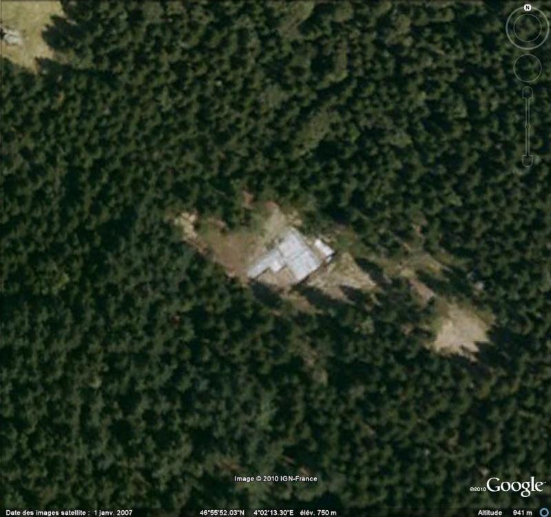 Antiquités romaines sous l'oeil de Google Earth Fouill11