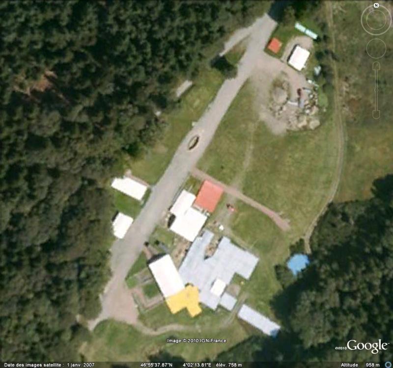 Antiquités romaines sous l'oeil de Google Earth Fouill12