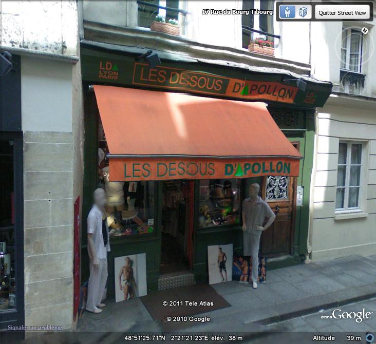 STREET VIEW : les façades de magasins (France) - Page 2 Glam10