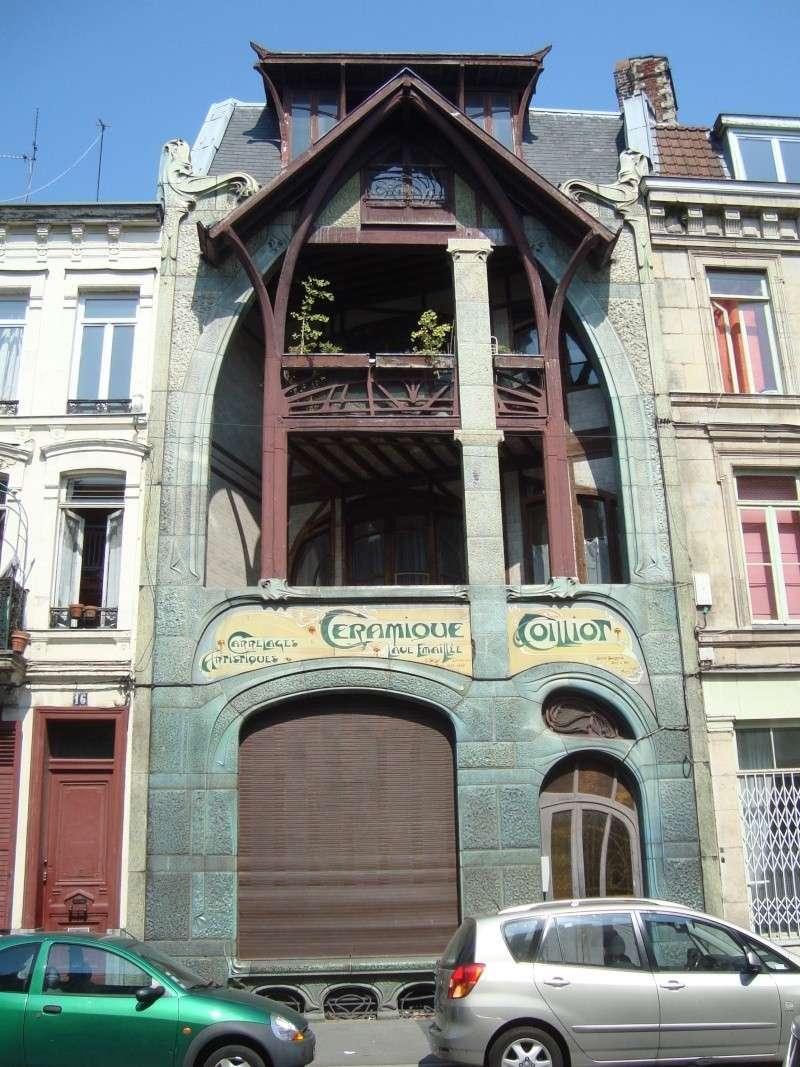 STREET VIEW : les maisons art nouveau  Maison16