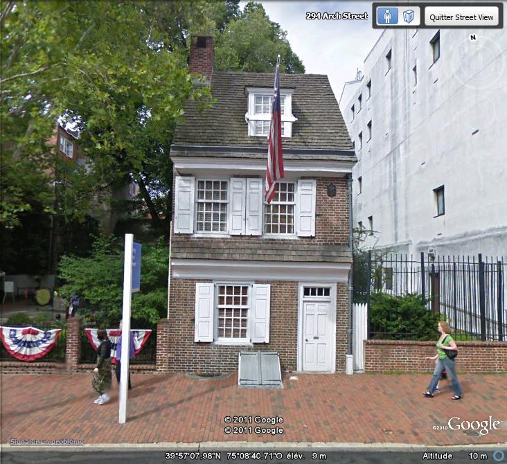 La maison de Betsy Boss , Philadelphie ( Etats-Unis ) Maison19