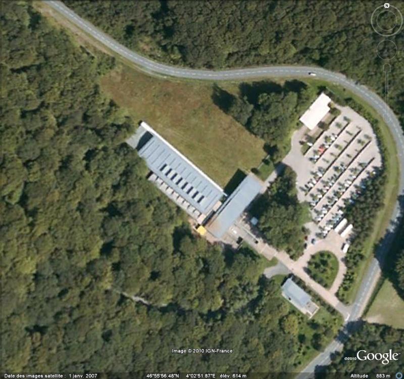 Antiquités romaines sous l'oeil de Google Earth Musae11