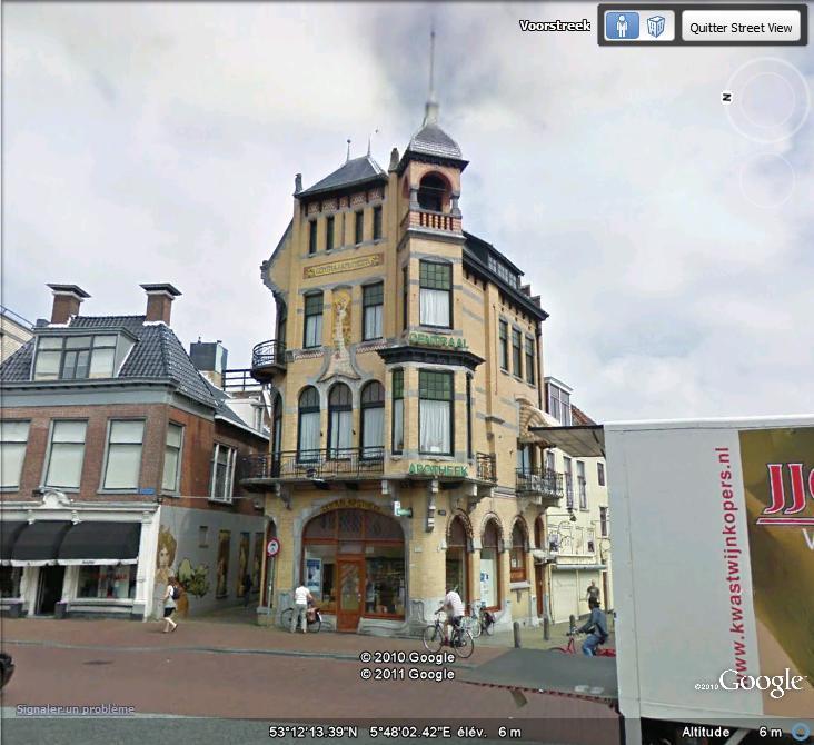 STREET VIEW : les maisons art nouveau  Nouvea13