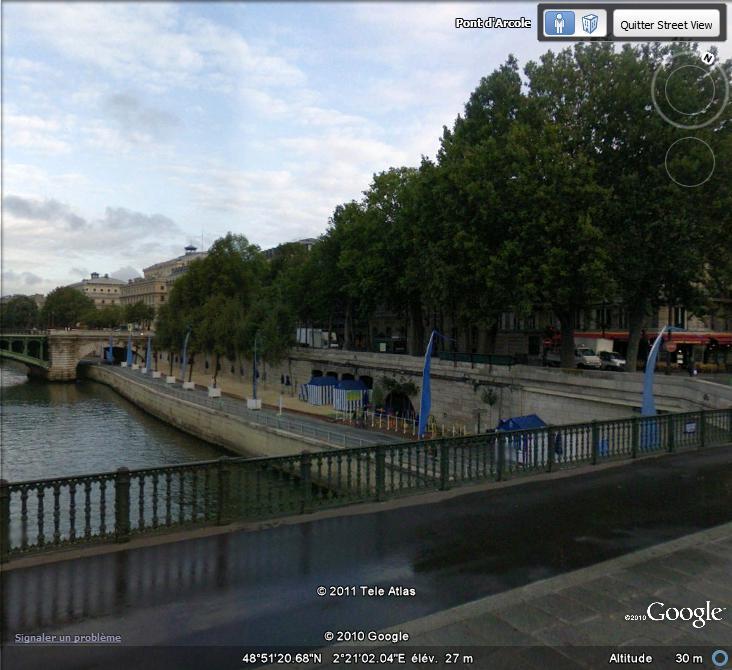 Street View : Paris plage  Paris_10