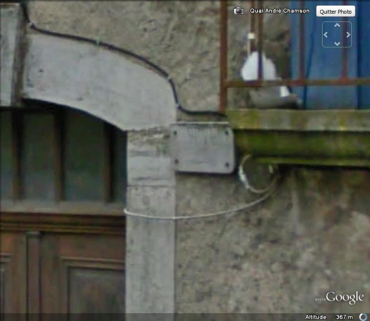 Street View : Les repères de crue Repare13
