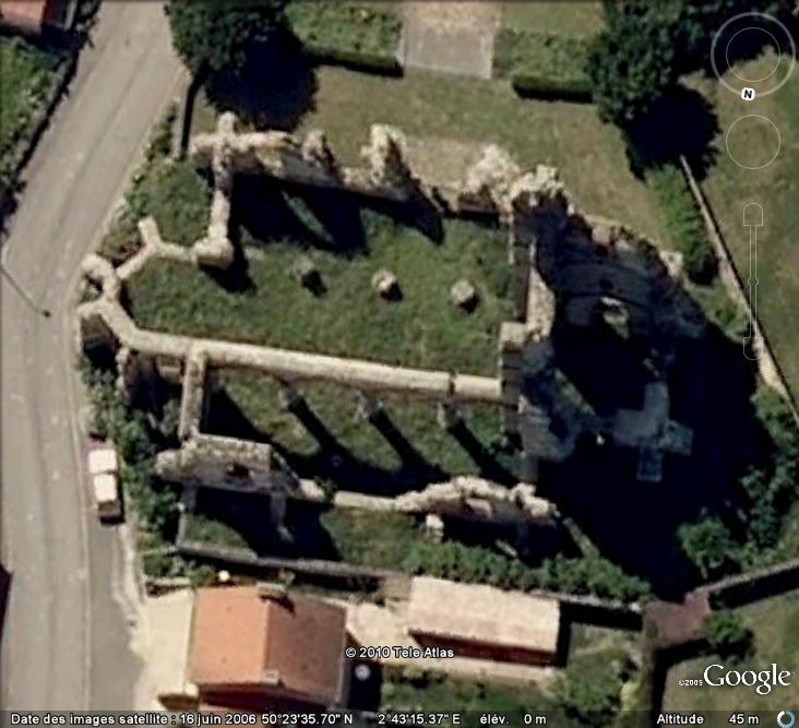 Ruines d'édifices religieux Ruines13