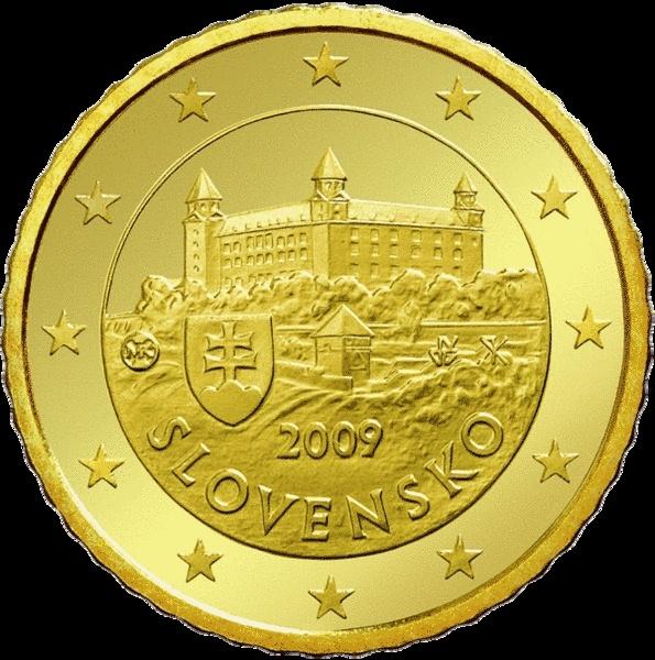 Monuments sur les pièces d'Euro  Slovak10