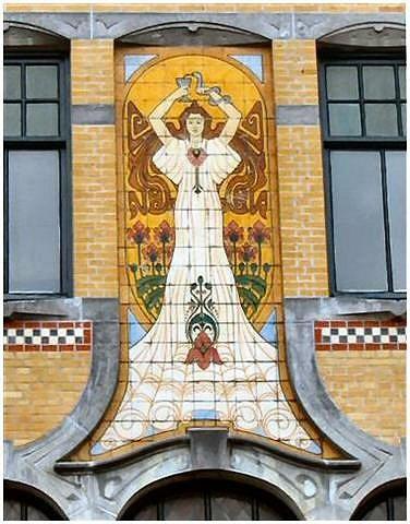 STREET VIEW : les maisons art nouveau  Untitl17