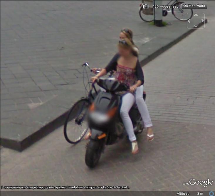 STREET VIEW : La nouvelle façon de parquer son vélo , La Hays ( Pays-Bas ) Valo_111