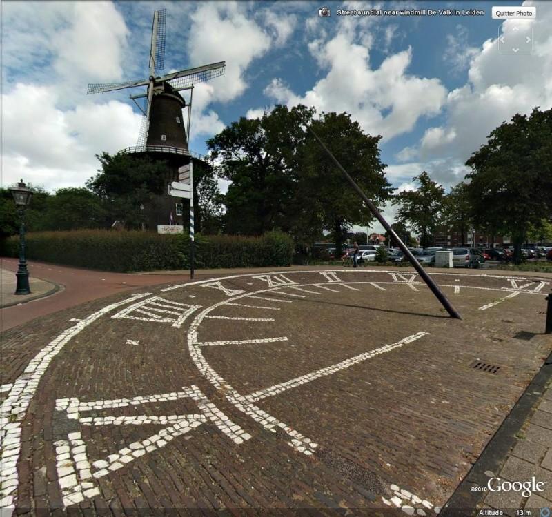 Les cadrans solaires découverts avec Google Earth Vue10