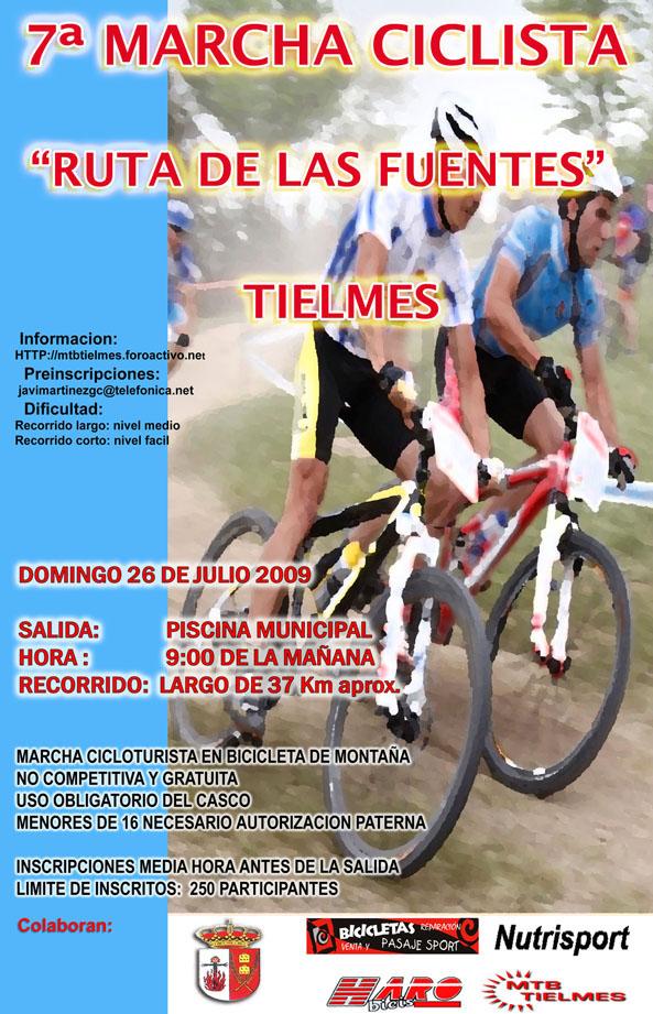 26 de Julio RUTA DE LAS FUENTES 2009 Cartel10