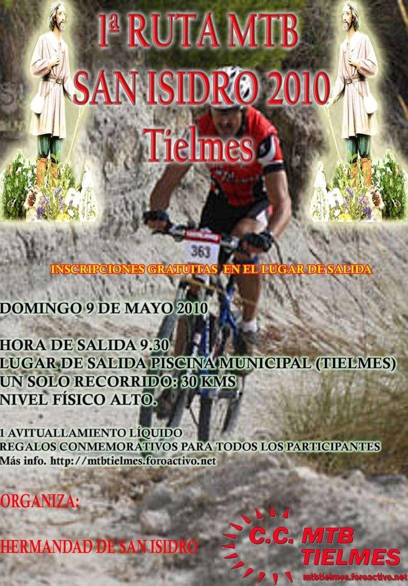 1ª Marcha San Isidro 2010 el 9 de Mayo Cartel12