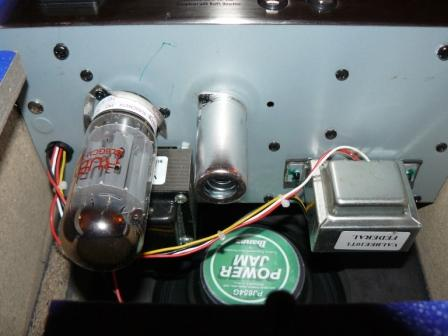 transformation et upgrade d'ampli a lampes ((Valbee Ibanez)) P1020118