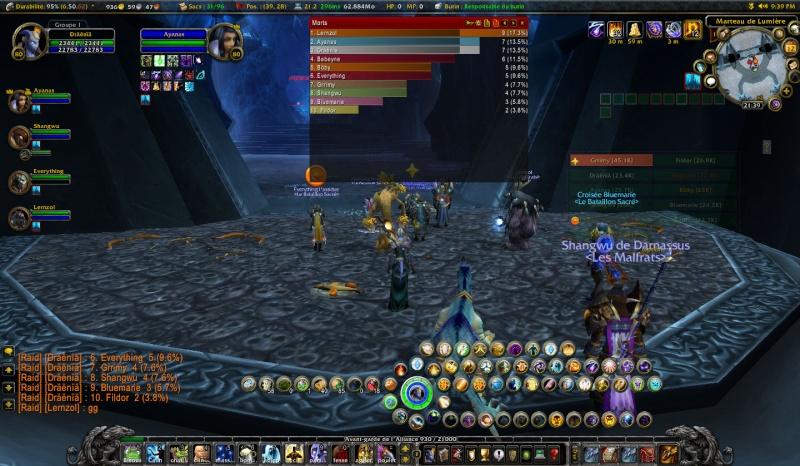 Un raid avec Lernzol...., y a de quoi rire :D Wowscr12