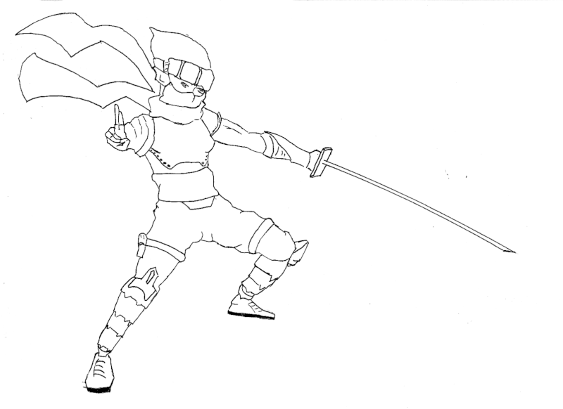 Mes petit dessins ^^. Ninja_10