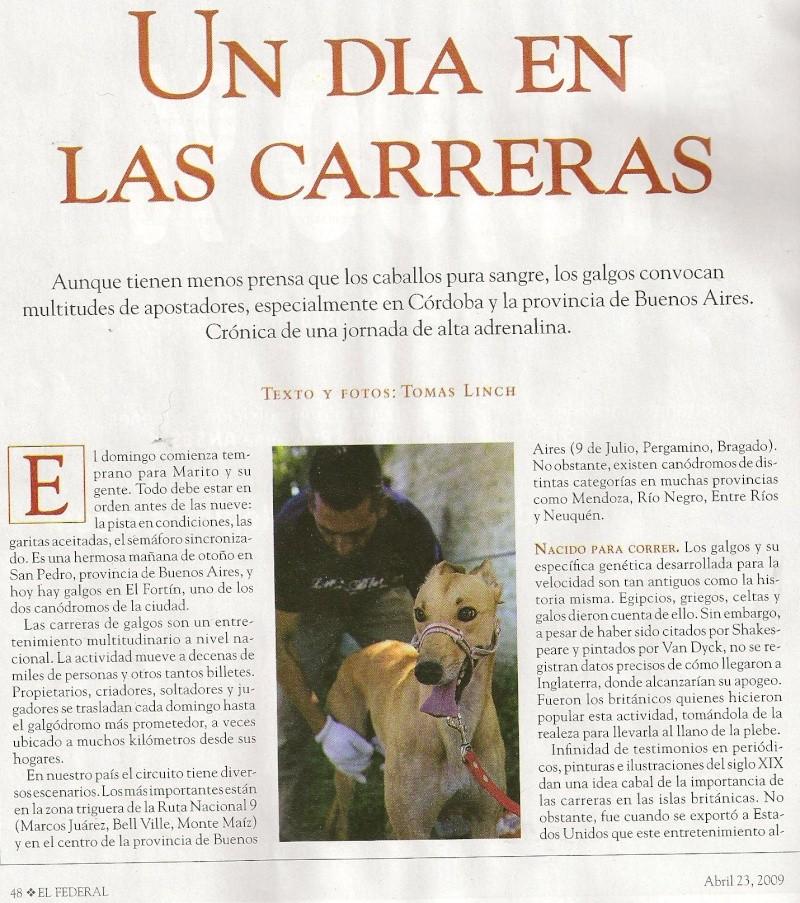Articulo argentino de galgos Federa10
