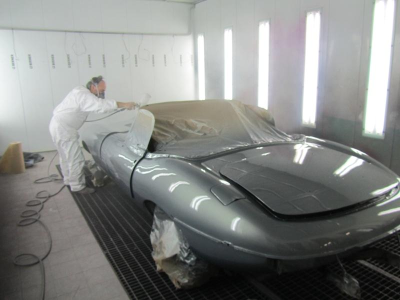 Bonjour je m'appelle Claudine, mon travail; la carrosserie et la peinture automobile 1_couc12