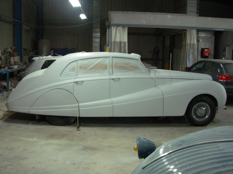 Bonjour je m'appelle Claudine, mon travail; la carrosserie et la peinture automobile Bentle18