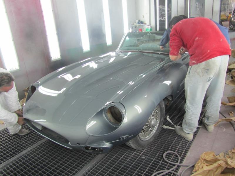 Bonjour je m'appelle Claudine, mon travail; la carrosserie et la peinture automobile Decach10