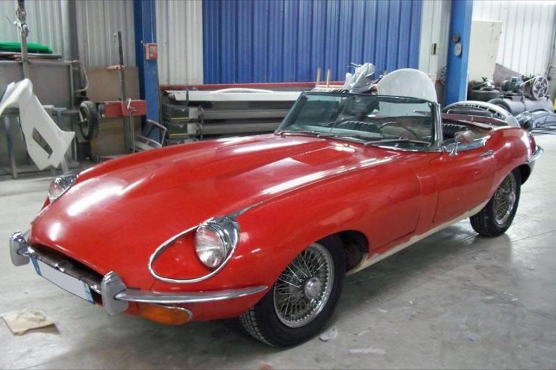 Bonjour je m'appelle Claudine, mon travail; la carrosserie et la peinture automobile Type_e10