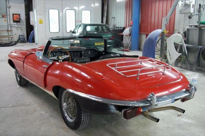 Bonjour je m'appelle Claudine, mon travail; la carrosserie et la peinture automobile Type_e12