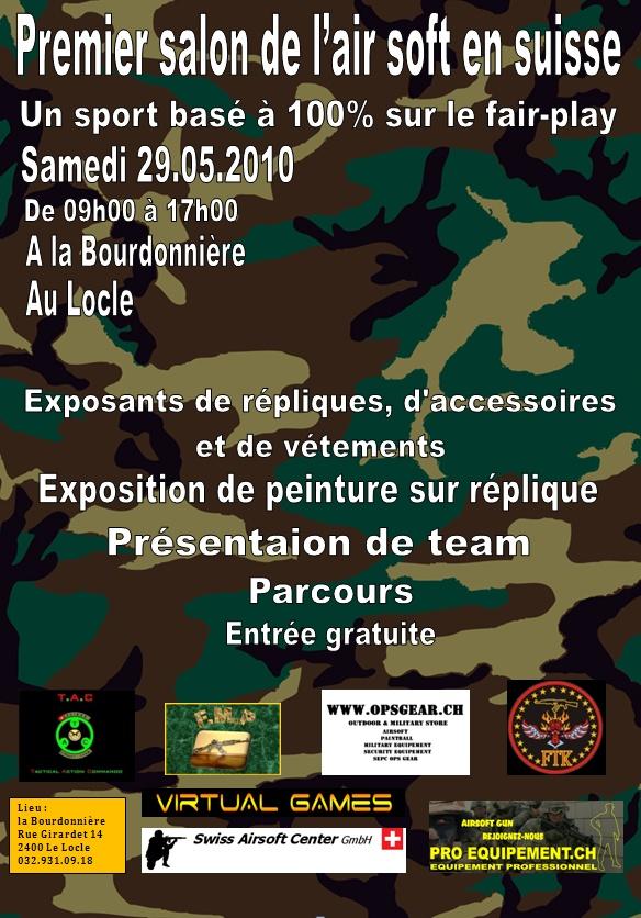 Salon de l'airsoft en Suisse le samedi 29 mai 2010 Affich10