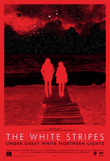 The White Stripes : Under Great White Northern Lights Wepost10