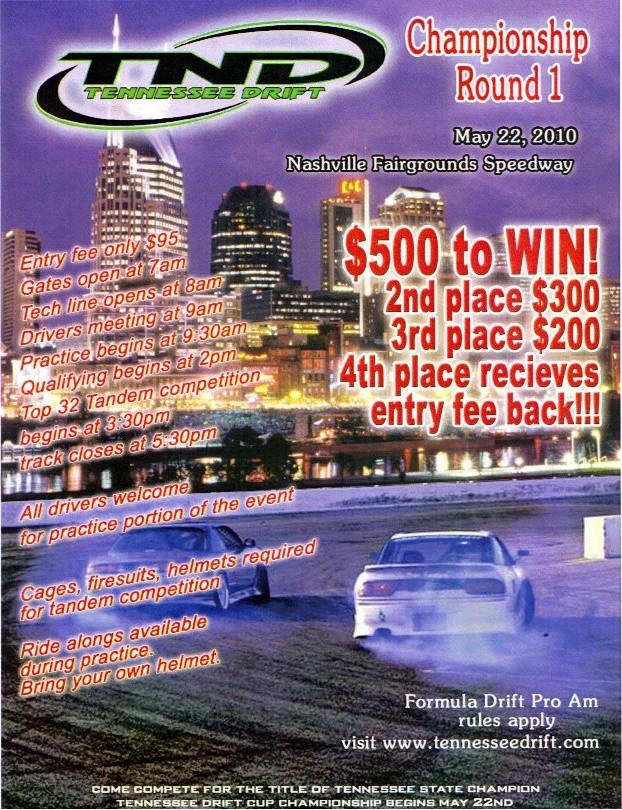 TNDrift Championship Round 1 MAY 22 Tndrif10