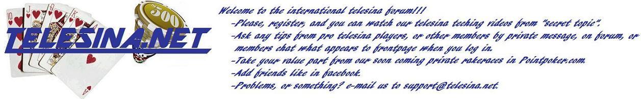 international telesina forum - frontpage Telene12