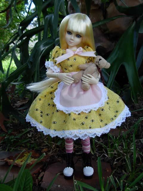 "12"" Goodreau dolls Goldil10"