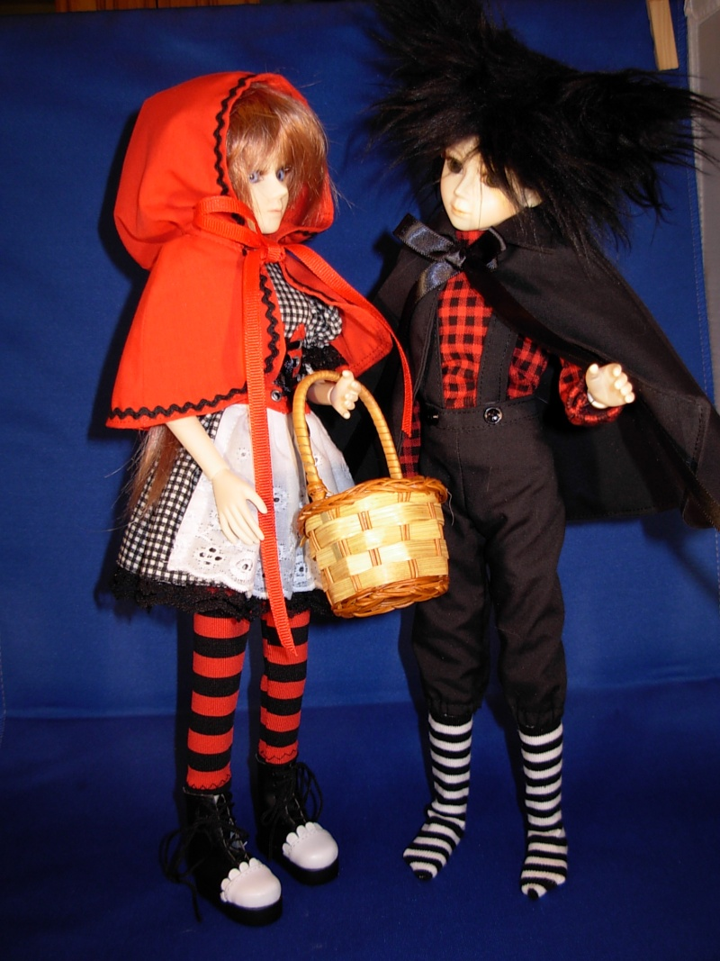 """12"""" Goodreau dolls Redwol10"""