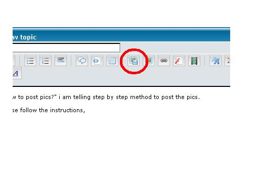 How to post pictures in the forum ? Htp110