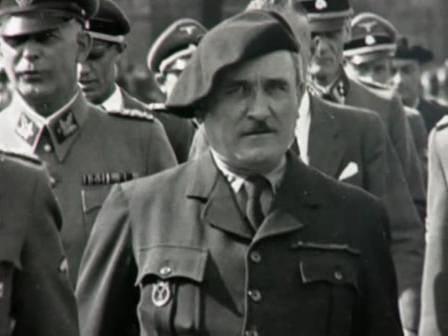 Chef de la Milice Aimé-Joseph Darnand Repres11