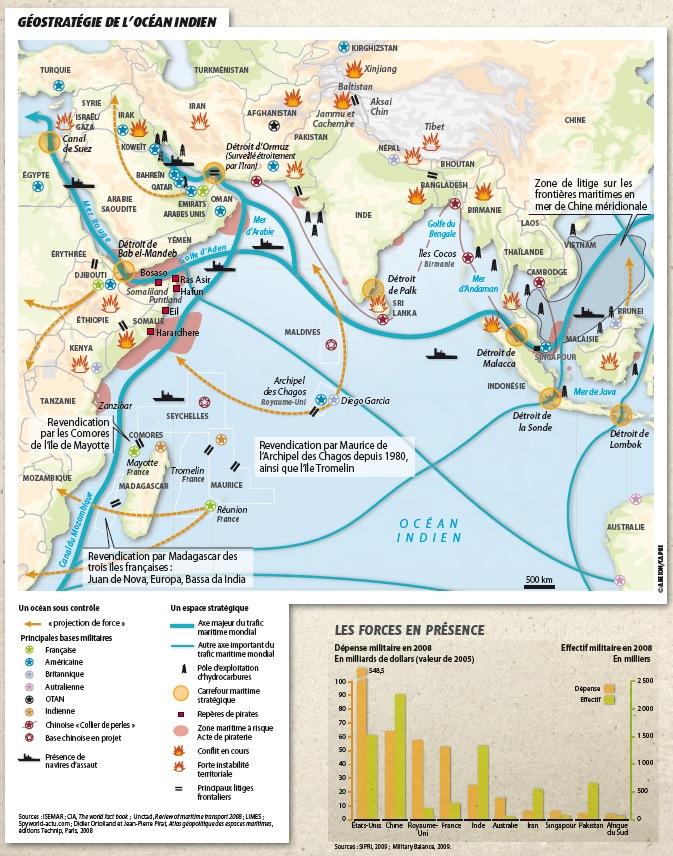 Dossier Golfe d'Aden/Somalie/Pirates vs Otan/Géostratégie de la région Carte-11