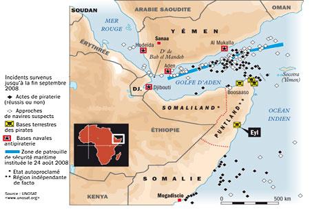 Dossier Golfe d'Aden/Somalie/Pirates vs Otan/Géostratégie de la région Cartep11