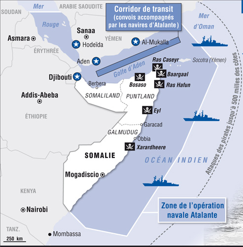 Dossier Golfe d'Aden/Somalie/Pirates vs Otan/Géostratégie de la région Convoi10